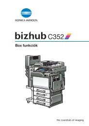 Konica Minolta Bizhub C35 Installation Guide