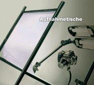Aufnahmetische - Kaiser Fototechnik