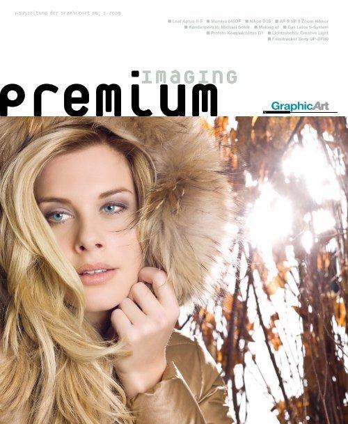 premium imaging 2-2009 | Deutsch - GraphicArt AG