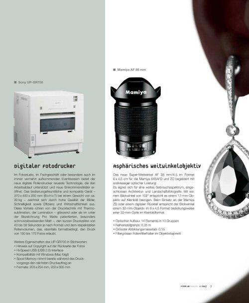 premium imaging 1-2007 | Deutsch - GraphicArt AG