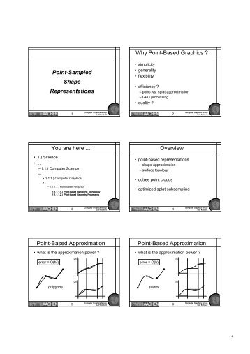 Slides - Computer Graphics and Multimedia