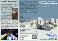 Visual Computing - Computer Graphics Group at RWTH Aachen