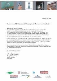 Einladung zum BDIA Haustechnik Workshop in den Showroom der ...