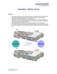 ArchiCAD 9 - CBS Pro 19.0 I/O