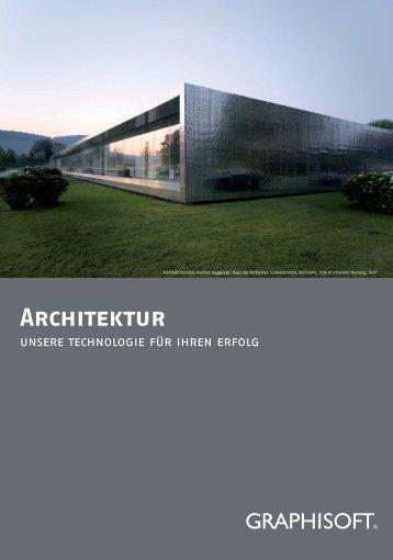 Architektur - GRAPHISOFT Deutschland GmbH