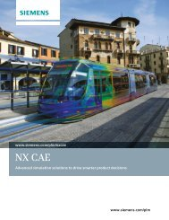 NX CAE brochure - Industrial Technology Systems, sro