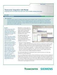 Teamcenter Integration for Mentor Graphics PADS Fact Sheet