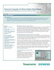 Teamcenter for MRO logistics records management fact sheet
