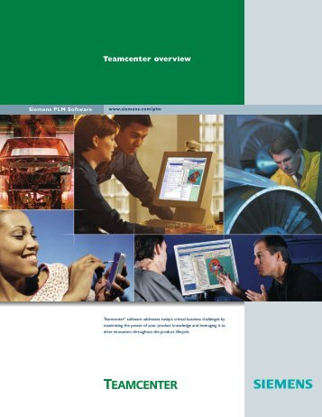 teamcenter overview brochure - Applied CAx