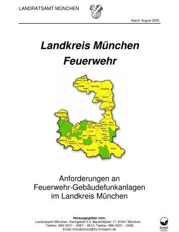 Landkreis München Feuerwehr - B Schmitt