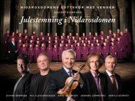 Julestemning i Nidarosdomen - Grappa Musikkforlag