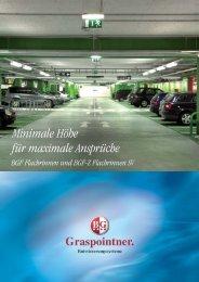 BGF-Z Flachrinnen SV mit Guss-, Edelstahl - BG Graspointner ...
