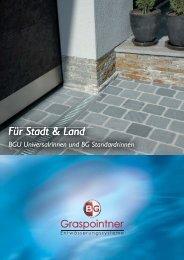 Die einfachsten Dinge - BG Graspointner GmbH & Co KG