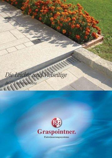 Die Leichte und Vielseitige - BG Graspointner GmbH & Co KG