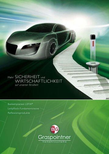 Bankettplatte LEFIX - BG Graspointner GmbH & Co KG