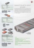 Bankettplatte LEFIX - BG Graspointner GmbH & Co KG - Seite 5