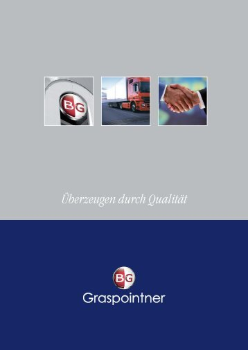 Imagebroschüre - BG Graspointner GmbH & Co KG