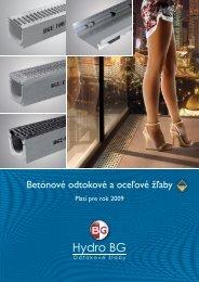 Katalog Hydro BG 2009-SK.indd - BG Graspointner GmbH & Co KG
