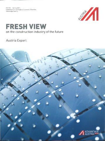 Austria Export Magazin Fresh View, Ausgabe 145, Seite 51. - BG ...