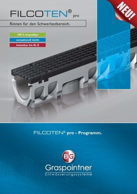 FILCOTEN pro Prospekt (3 MB) - BG Graspointner GmbH & Co KG