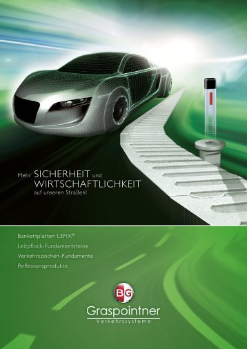 Gesamtprospekt Verkehrssysteme - BG Graspointner GmbH & Co KG