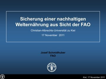 Vortragsfolien - Christian-Albrechts-Universität zu Kiel