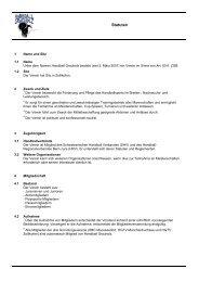 Statuten - Handball Grauholz