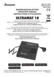 ULTRAMAT 18 - CMC Versand