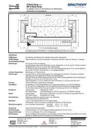 StZ 4.4a U-Basis-Zarge und WE-U-Basis-Zarge - Grauthoff