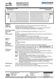 4.2 Einbruchhemmende Tür 70-ET2-SK3, Doppelfalz - Grauthoff