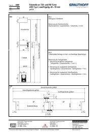 4.8 Falzmaße an T30- und RS-Türen AHS Typ 2 ... - Grauthoff