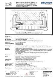 """und Premium Klasse U16-Zarge""""WE-Softline"""" - Grauthoff"""
