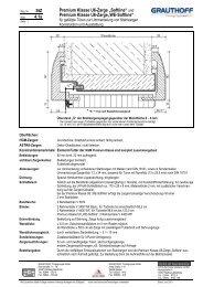 """und Premium Klasse U6-Zarge""""WE-Softline"""" - Grauthoff"""
