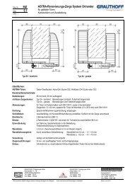 StZ 5.1 ASTRA-Renovierungs-Zarge System Ortrander - Grauthoff