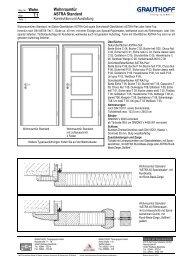 7.1 Wohnraumtür ASTRA Standard - Grauthoff