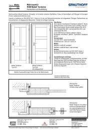 5.2 Wohnraumtür HGM Modell Tendence - Grauthoff