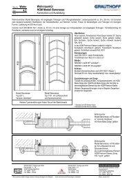 4.2 Wohnraumtür HGM Modell Baronesse - Grauthoff
