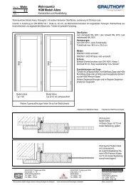 5.3 Wohnraumtür HGM Modell Adera - Grauthoff