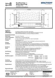 StZ 2.3a Rund-Basis-Zarge und WE-Rund-Basis-Zarge - Grauthoff
