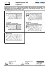 3.2 Kantenausführungen an Türen - Grauthoff
