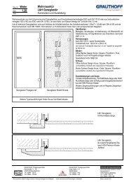1.20 Wohnraumtür L&H Ganzglastür - Grauthoff