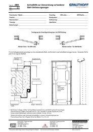 3.1 Aufmaßhilfe zur Ummantelung vorhandener Stahl ... - Grauthoff
