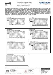 3.4 Kantenausführungen an Türen - Grauthoff