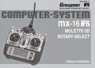 MOLETTE-3D ROTARY-SELECT - Graupner
