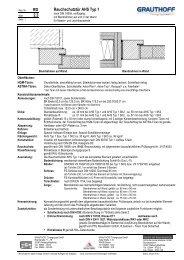 RD 2.3 Rauchschutztür AHS Typ 1 - Grauthoff