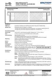 5.1 Einbruchhemmende Tür 55-WK3, 55-WK3-SK1 und ... - Grauthoff