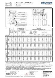 StZ 2.0 Maße an HGM- und ASTRA-Zargen Übersicht - Keppler Holz