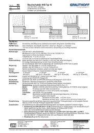 RD 1.3 Rauchschutztür AHS Typ 10 - Grauthoff
