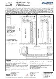 6.1 ASTRA Rund-Basis-Zarge mit Oberblende - Grauthoff