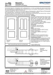 2.1 Wohnraumtür HGM Modell Kiel - Grauthoff